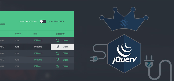 10 Best jQuery Table Plugins You Must Not Miss in 2018
