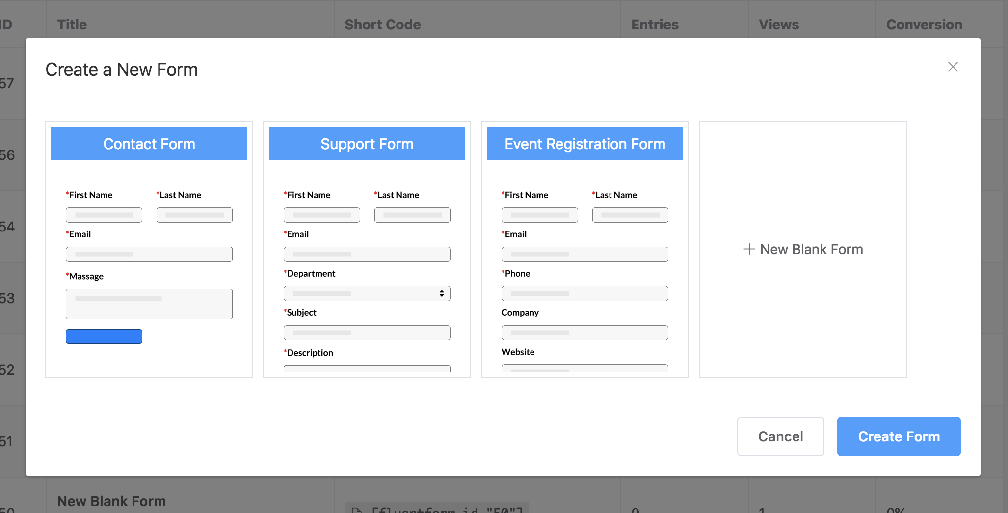 Gravity Forms VS WP Fluent Form best form plugins