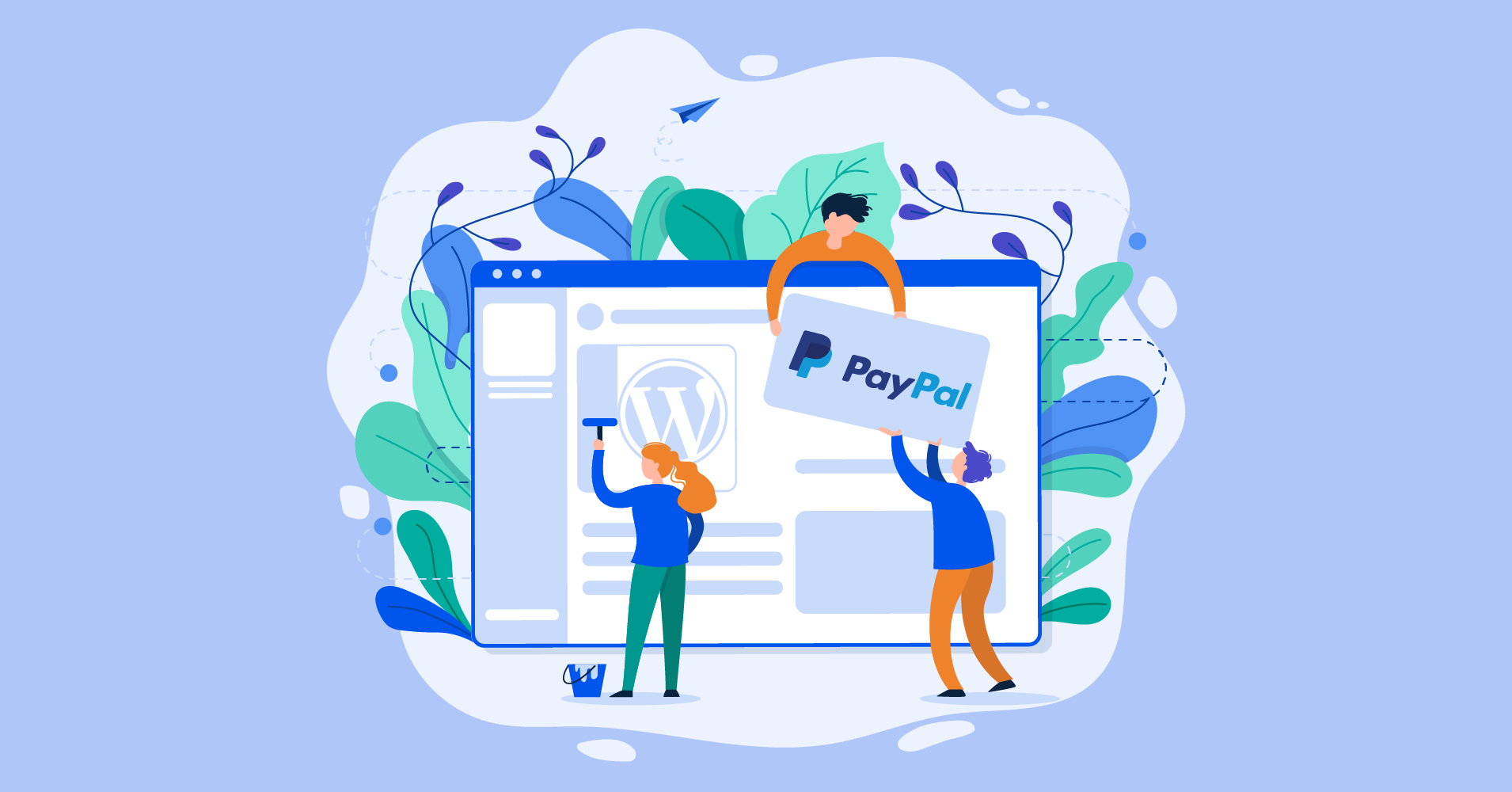 How to connect PayPal into WordPress