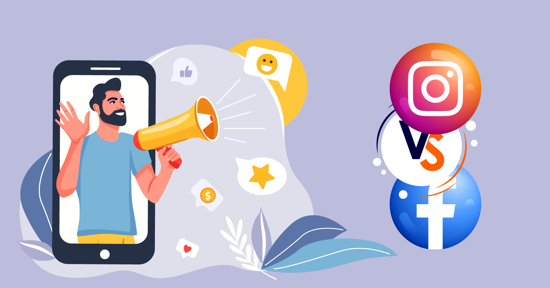Instagram vs Facebook marketing differences and similarities