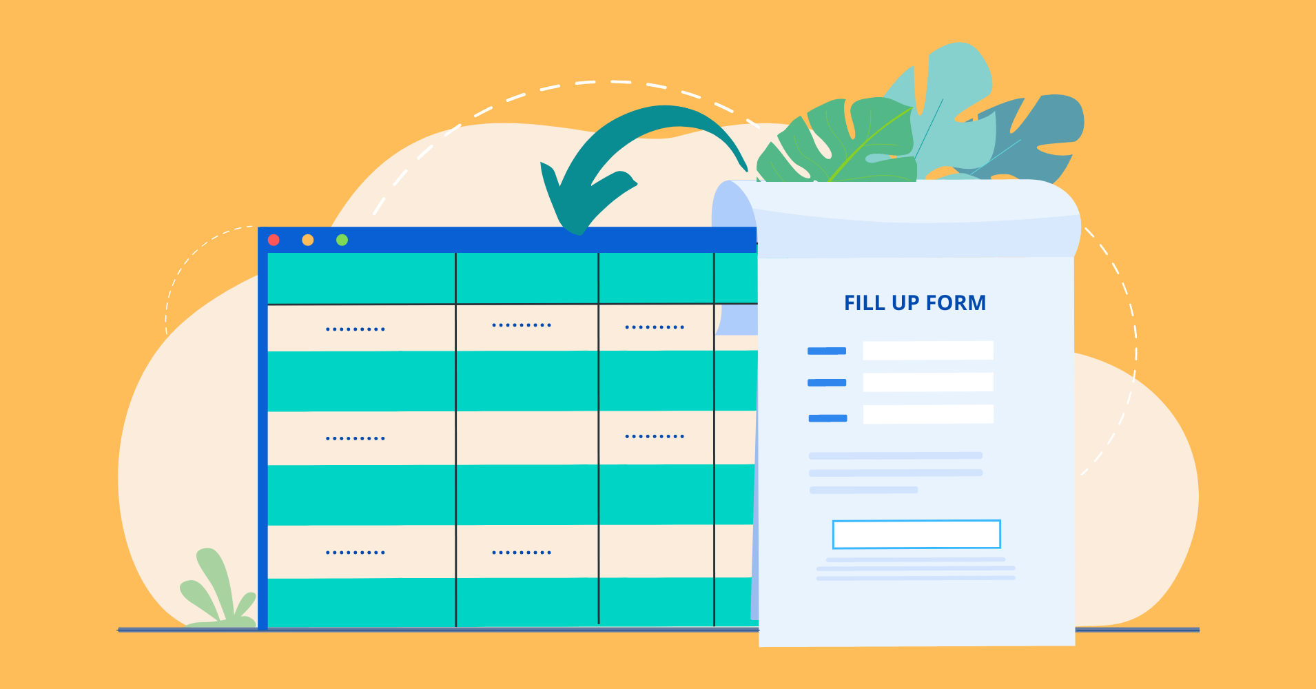 how can I insert form entries in WordPress tables