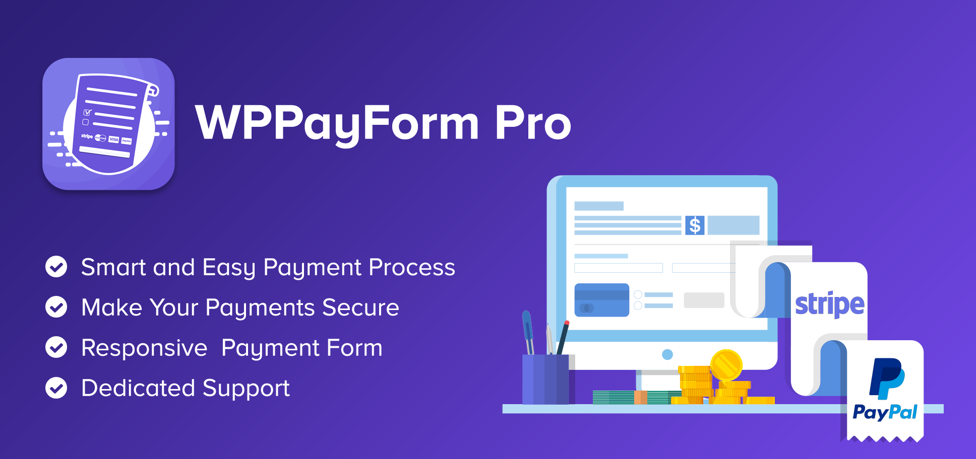 WPPayForm Pro – WordPress Payments Made Simple